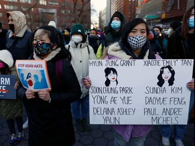 纽约示威人群2