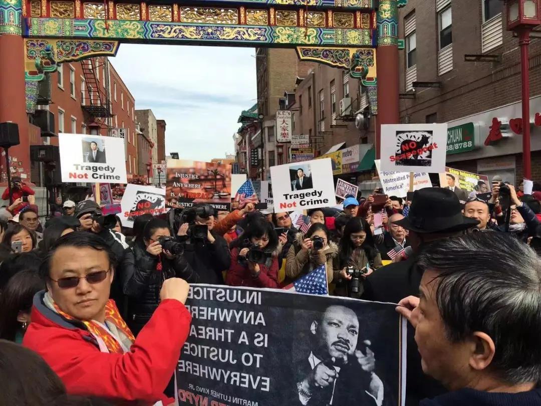 2016年2月20日费城5000人挺梁大游行