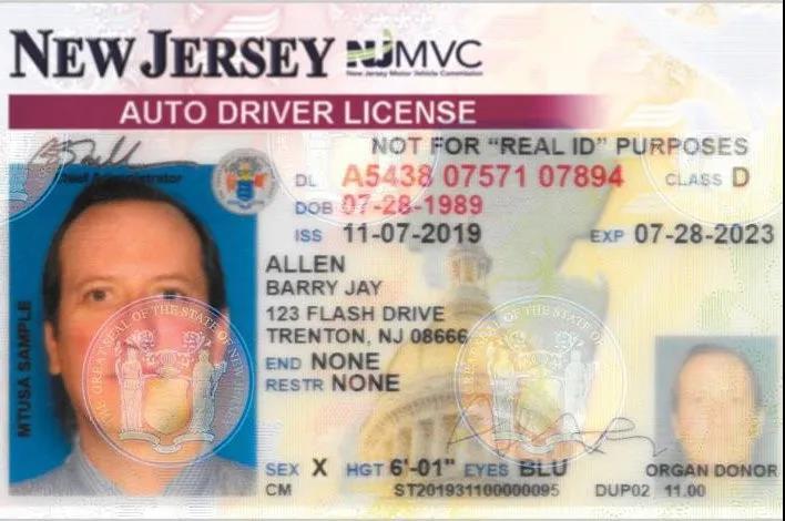 无性别驾照