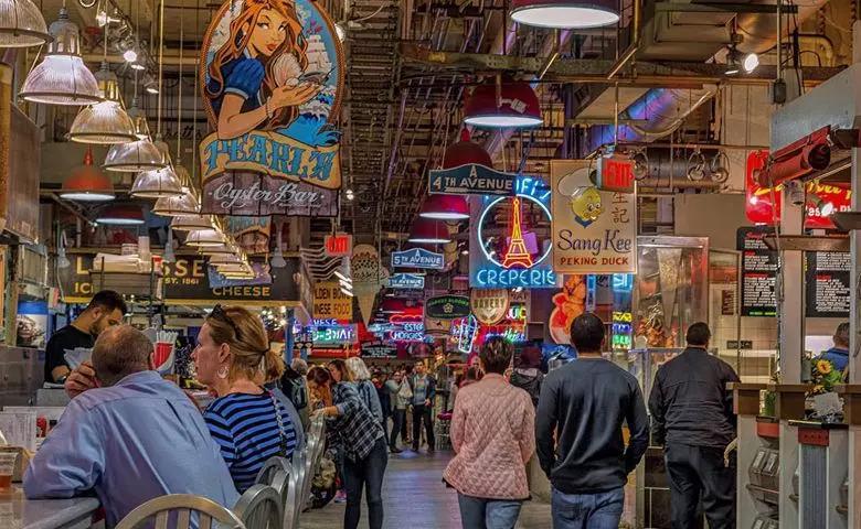 雷丁车站市场寻宝游戏
