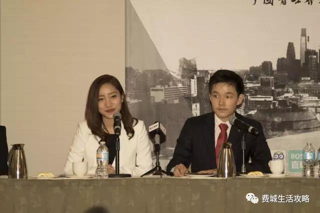 峰会创始人兼联合主席谢承润(右)、联合主席兼外联部长王星逸(左)