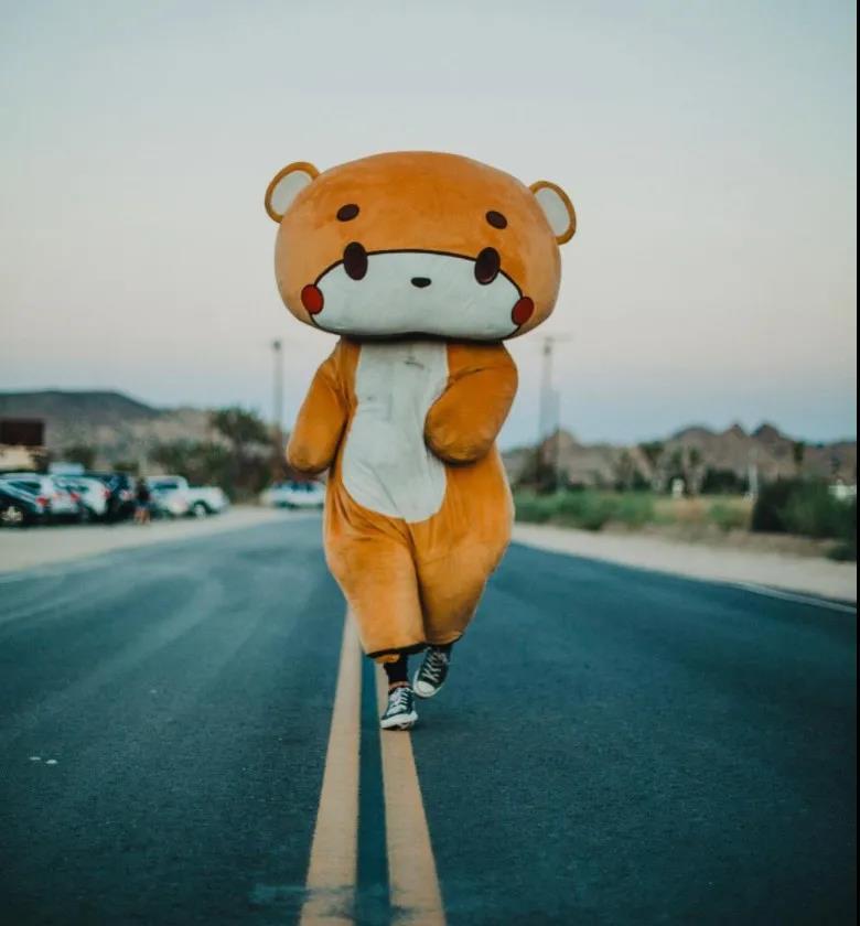 真人大小的泰迪熊
