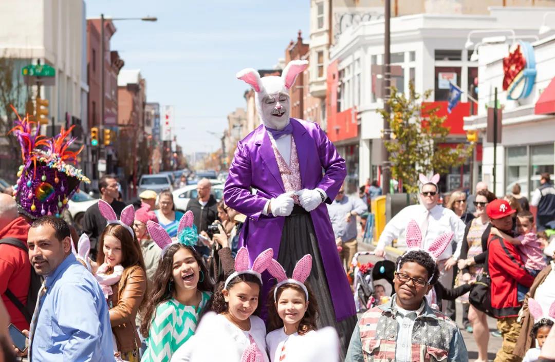 南街复活节寻蛋