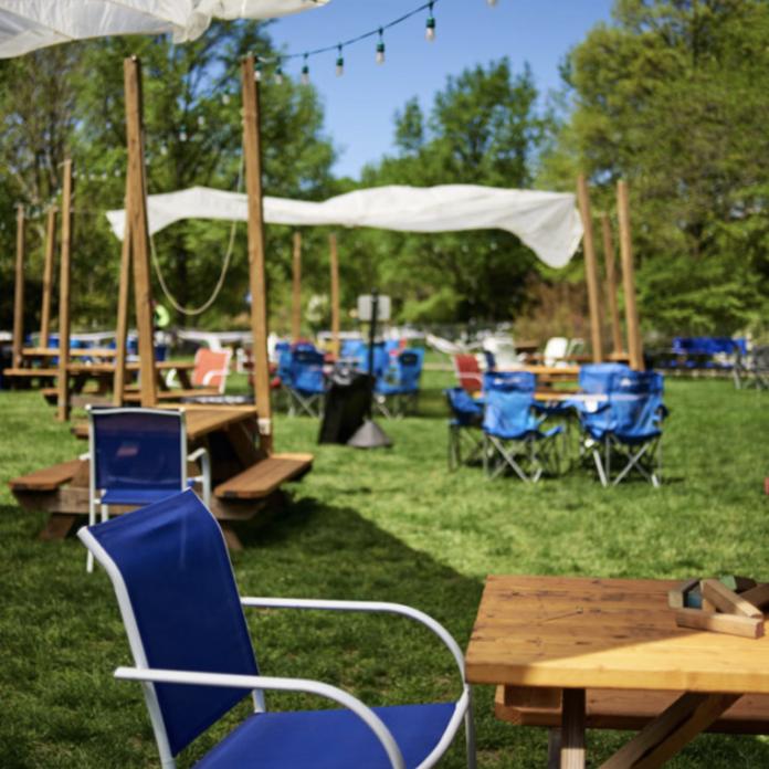 园艺中心的啤酒花园