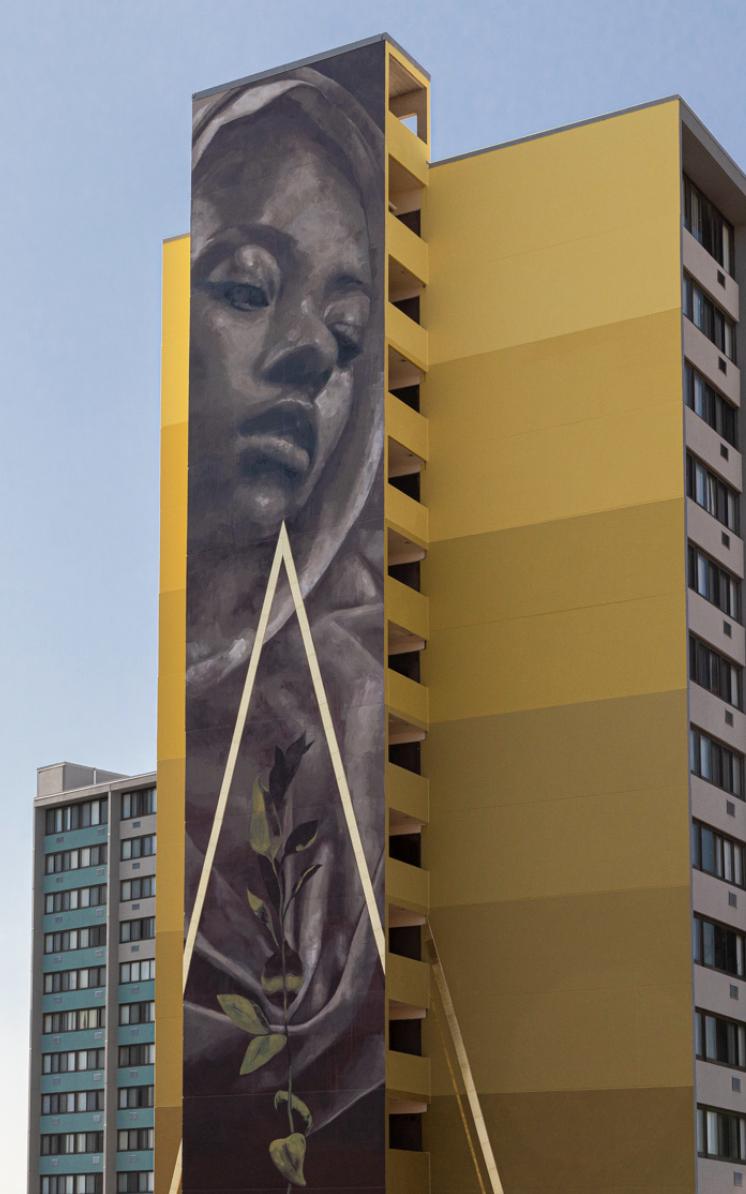 街头艺术之美